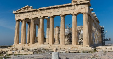 Greece Athens Acropolis temple Parthenon