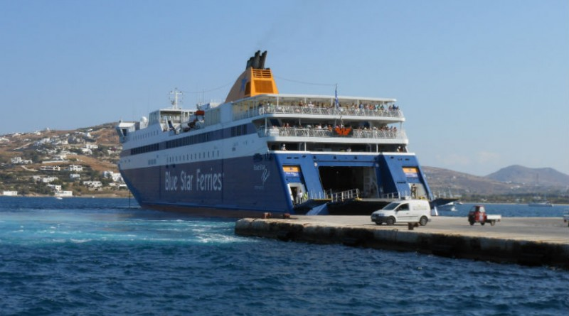Grcka trajekt - Blue Star Ferries