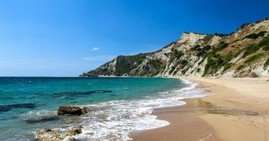 Greece Corfu Arkoudilas beach