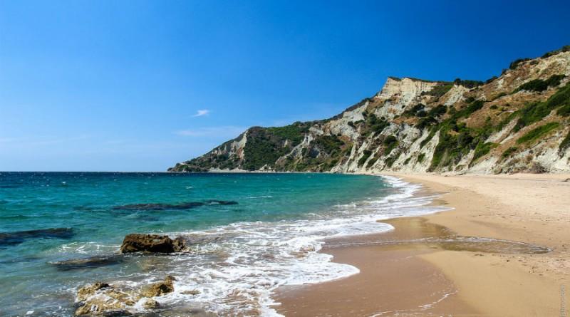 Greece Corfu Arkoudilas beach