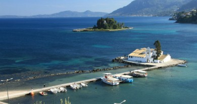 Greece Corfu Mouse island