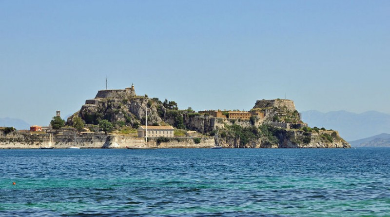 Greece Corfu old fortress