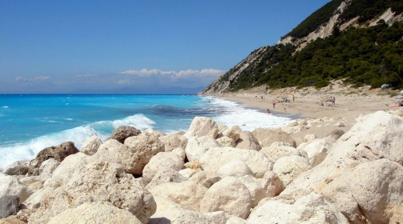 Greece Lefkada beach