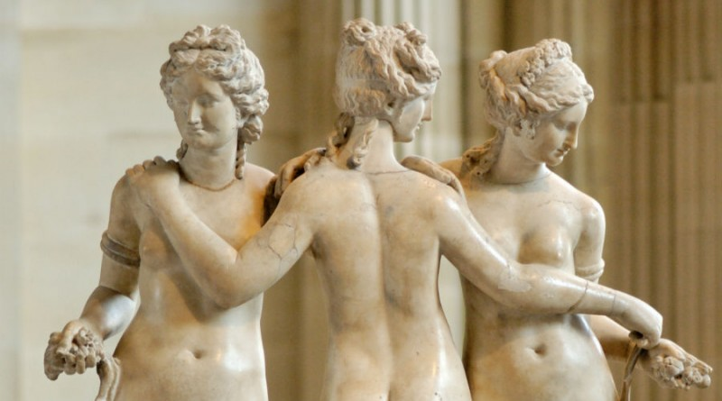 Greece Sesbos Three Graces