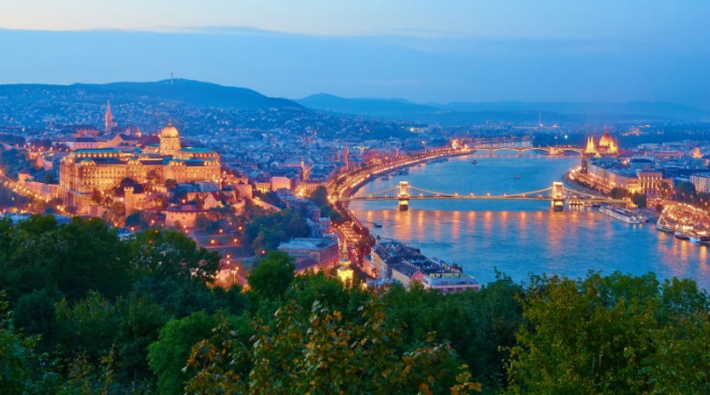Hungary Budapest bridges