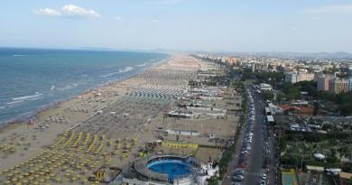Italy Rimini beach
