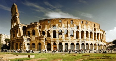 Italy Rome Colosseum