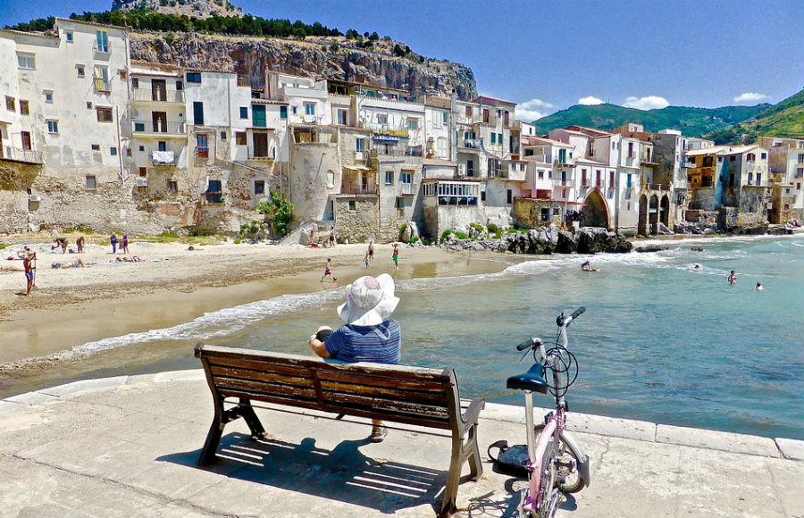 Sicilija - Prelepi gradić Cefalu