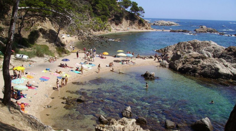 Spain Costa Brava Cala Etreta