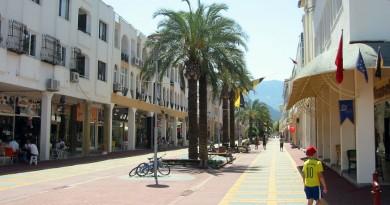 Turkey Kemer town centre