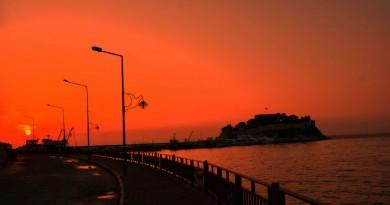Turkey Kusadasi sunset