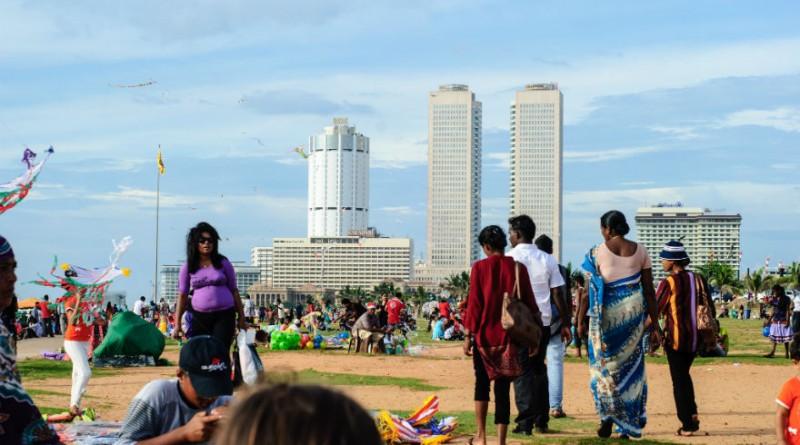 Sri Lanka Colombo Galle Face Green