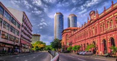 Sri Lanka Colombo World trade centre towers