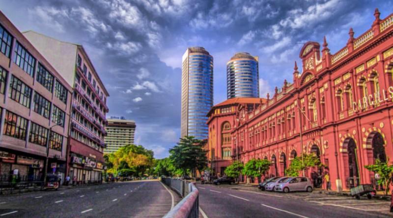 Sri Lanka Colombo World trade centre towers