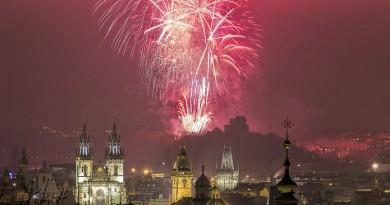 Czech Republic Prague New Year eve