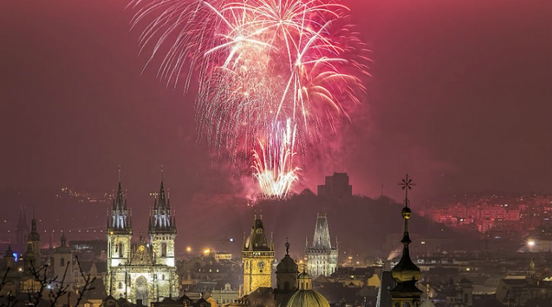 Czech Republic Prague New Year eve