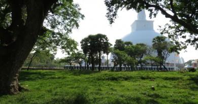 Sri Lanka Anuradhapura Ruwanweli stupa