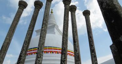 Sri Lanka Anuradhapura Thuparamaya stupa