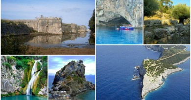 Greece Lefkada attraction
