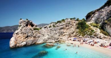 Greece Lefkada beach Agiofili