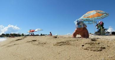 Greece Sithonia Agios Ioannis beach