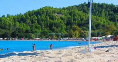 Greece Sithonia Armenistis beach