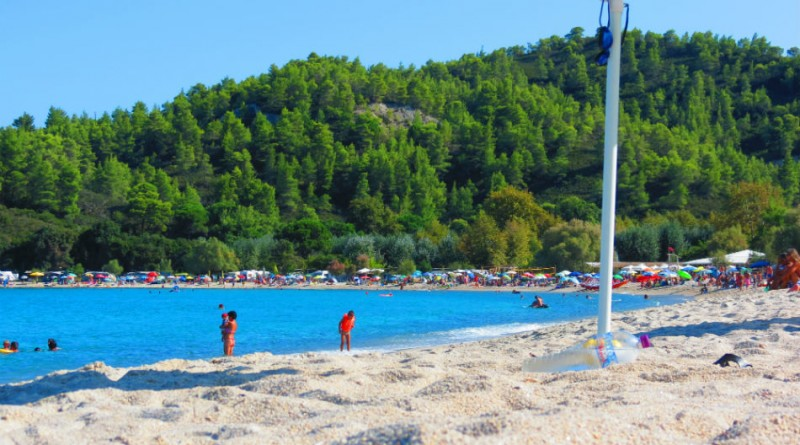 Greece Sithonia Armenistis beach