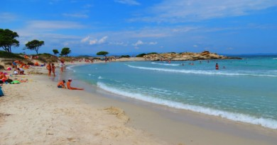 Greece Sithonia Karidi beach