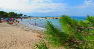 Greece Sithonia Karidi beach Vourvourou