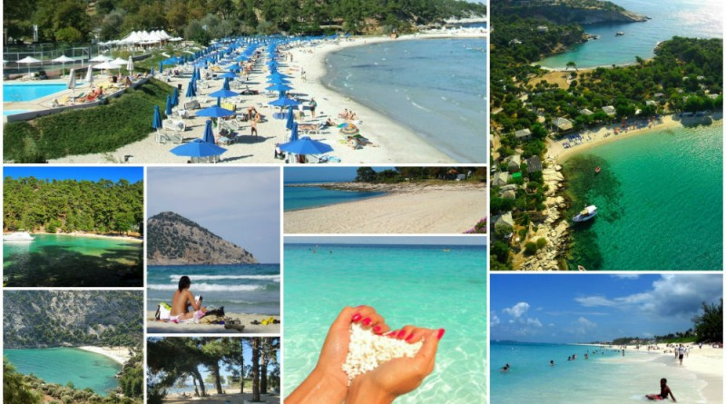 Greece Thassos best beaches
