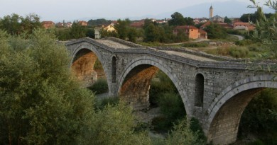 Serbia Djakovica roman bridge Terzijski most
