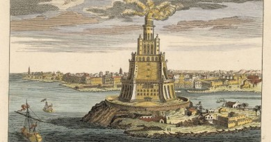 Seven wonders - Alexandria lighthouse
