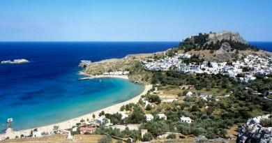 Greece Rhodes Lindos