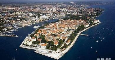 Croatia zadar port