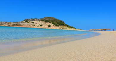 Greece Peloponnese Elafonisos Simos - beautiful sandy beach