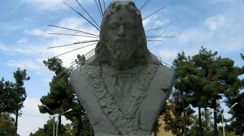 iran shiraz hafez statue