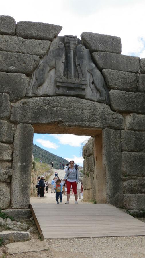 Glavno obeležje drevne Mikene
