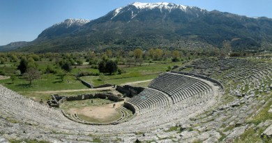 Greece Epirus Theatre of Dodona