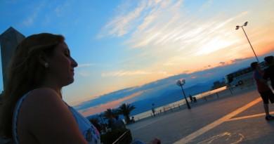 Greece Peloponnese Nafplio sunset
