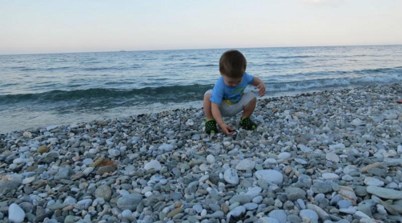 Greece Platamonas beach