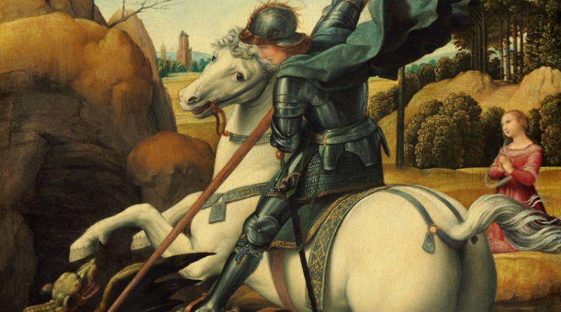 St. George by Raphael