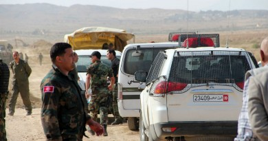 Tunisia security forces track down terrorists