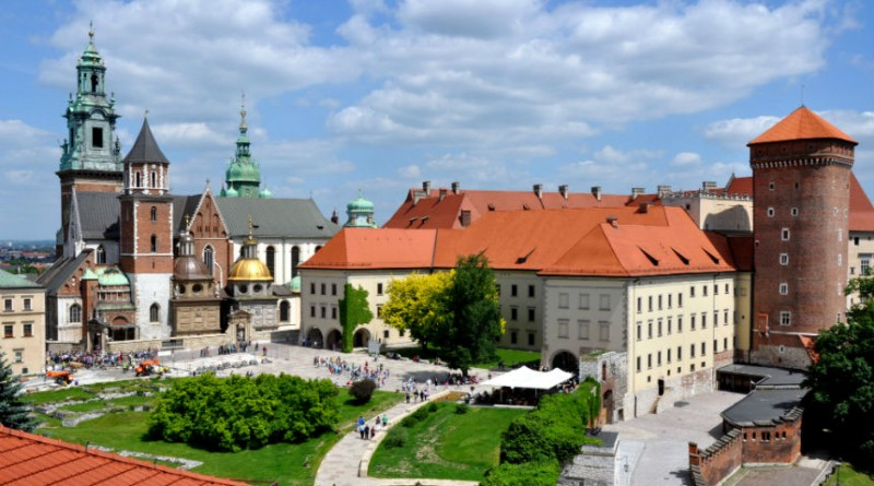 Poland Krakow wawel castle Cathedral