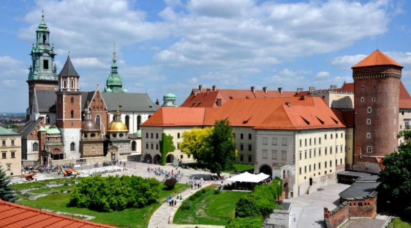 Poland Krakow wawel castle Cathedral