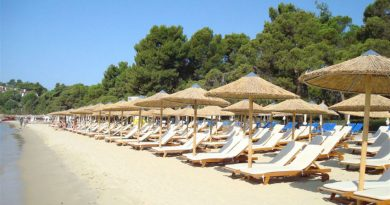 Greece Skiathos Koukounaries beach