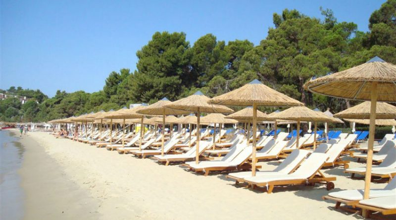 Greece Skiathos Koukounaries beach