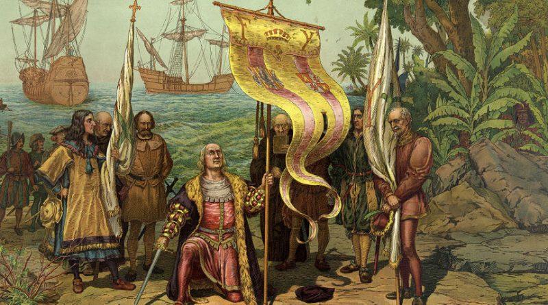 Spain history: Christoper Columbus arrives in America