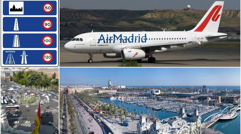 Spain traffic