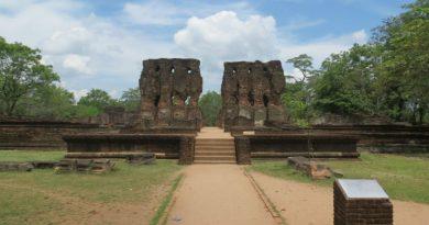 Sri Lanka Polonnaruwa Royal palace