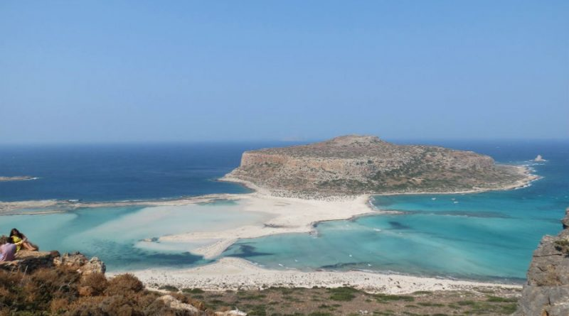 Greece Crete Balos beach